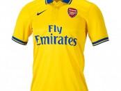 Arsenal away kit 13 14