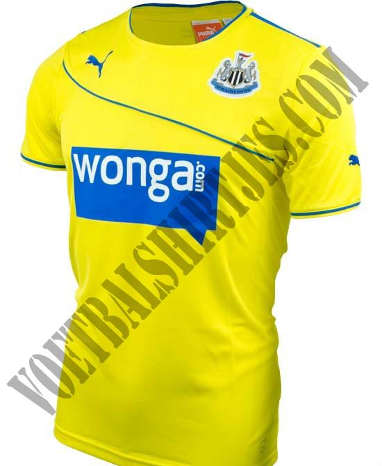 Newcastle United 3rd kit 2014