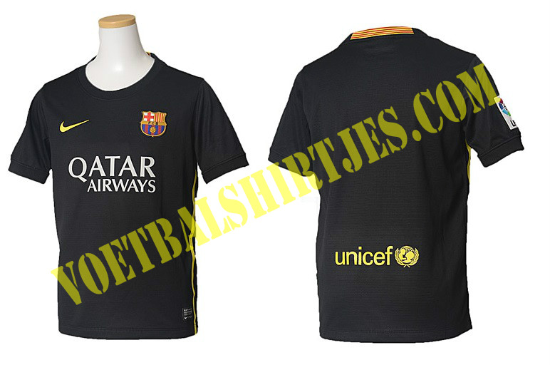 fc barcelona 3e shirt champions league 2014
