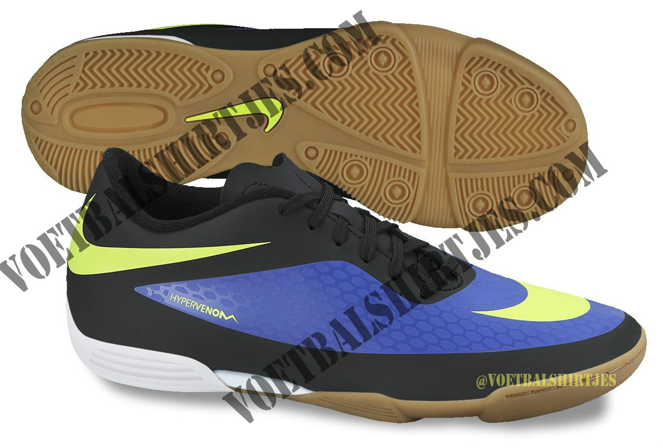 Nike Hypervenom 2014 Hyperblue / Volt / Black - Voetbalshirtjes.com