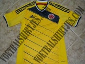 Colombia world cup home kit 2014