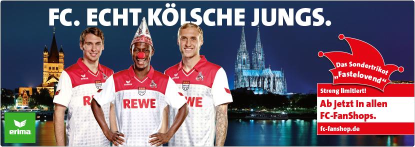 FC Köln Carnaval shirt 2014