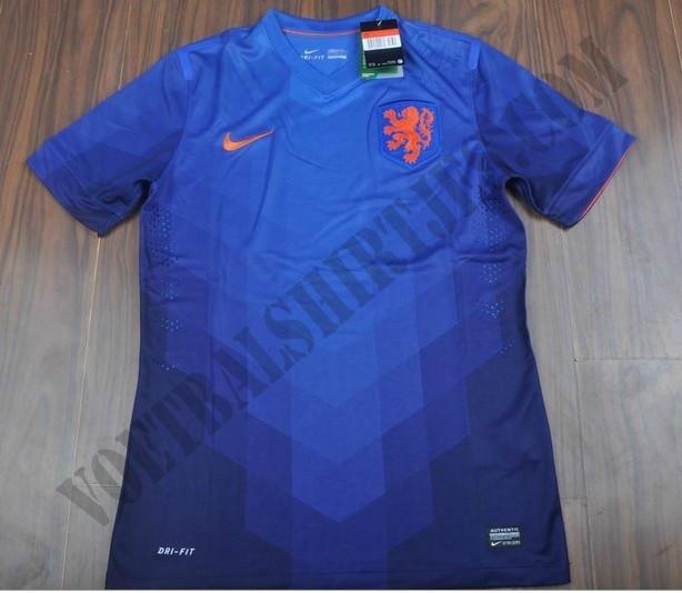 Nederlands Elftal uit tenue WK 2014