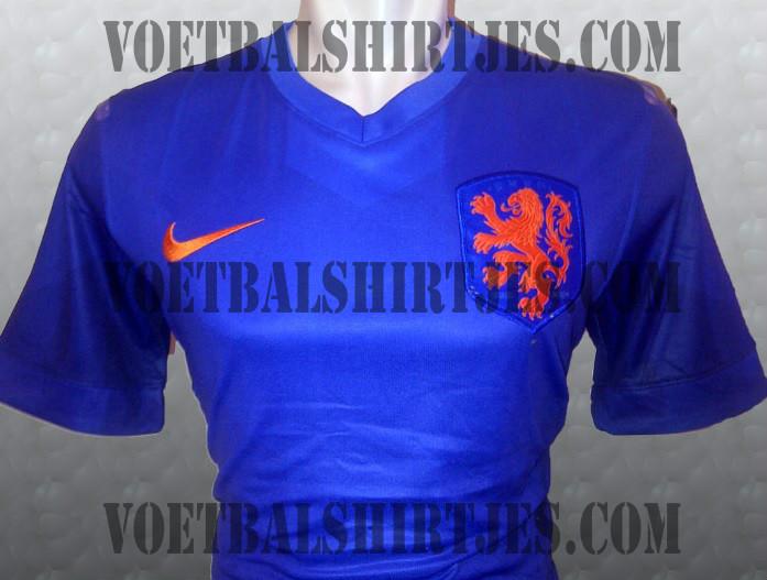 nederlands elftal uitshirt WK 2014