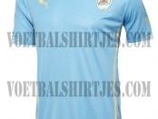 Uruguay home shirt world cup 2014
