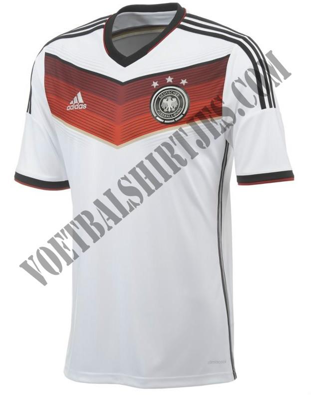 Duitsland WK 2014 shirt