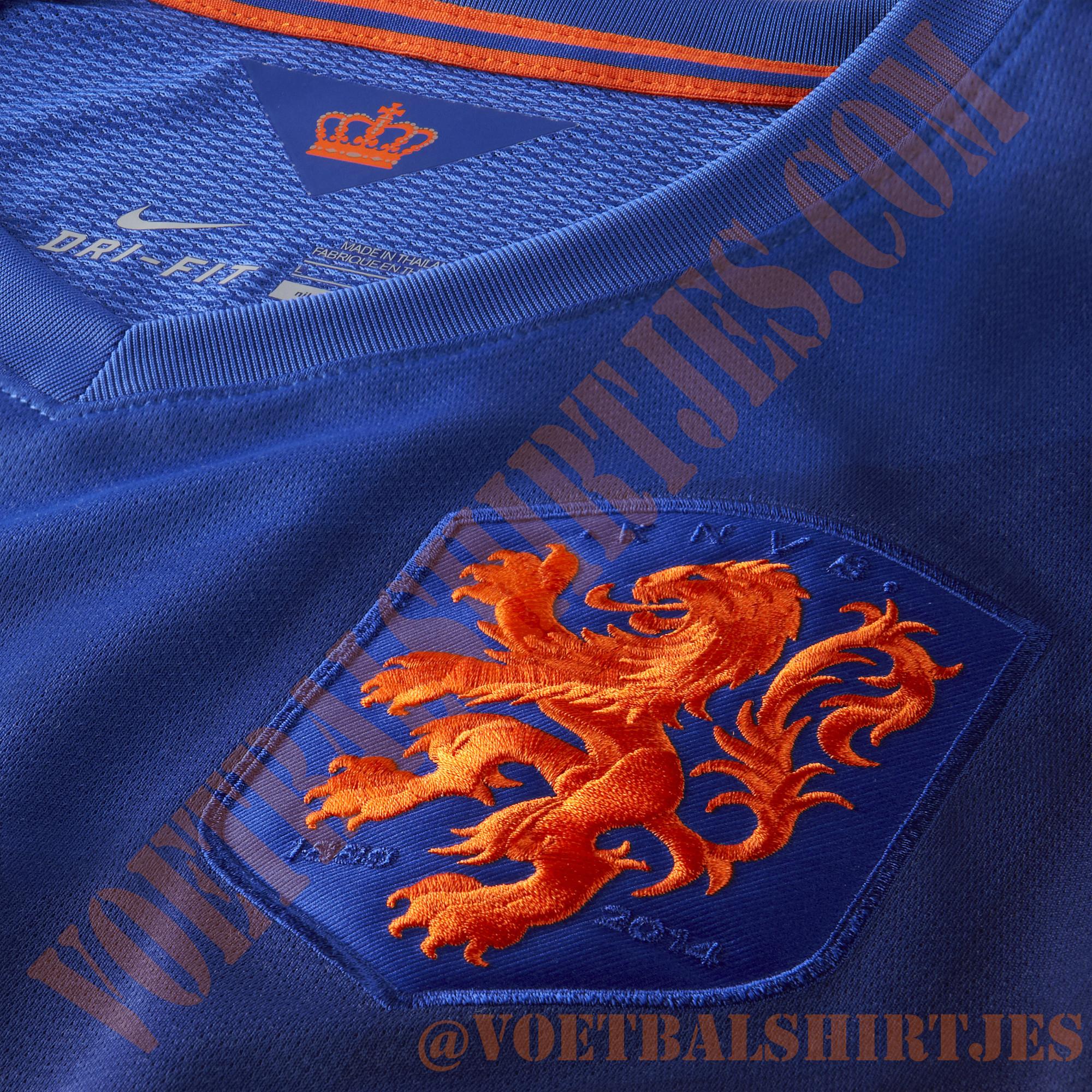 Nederlands Elftal shirt uit 2014