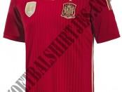 Spanje shirt Wk 2014