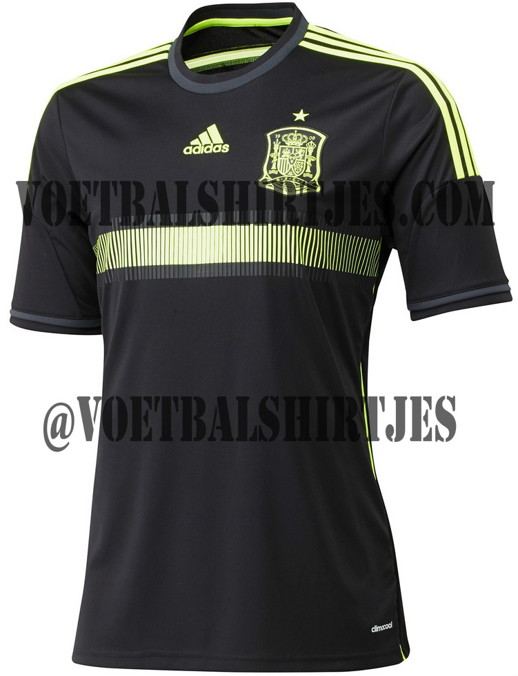 Spain away shirt 2014 2015