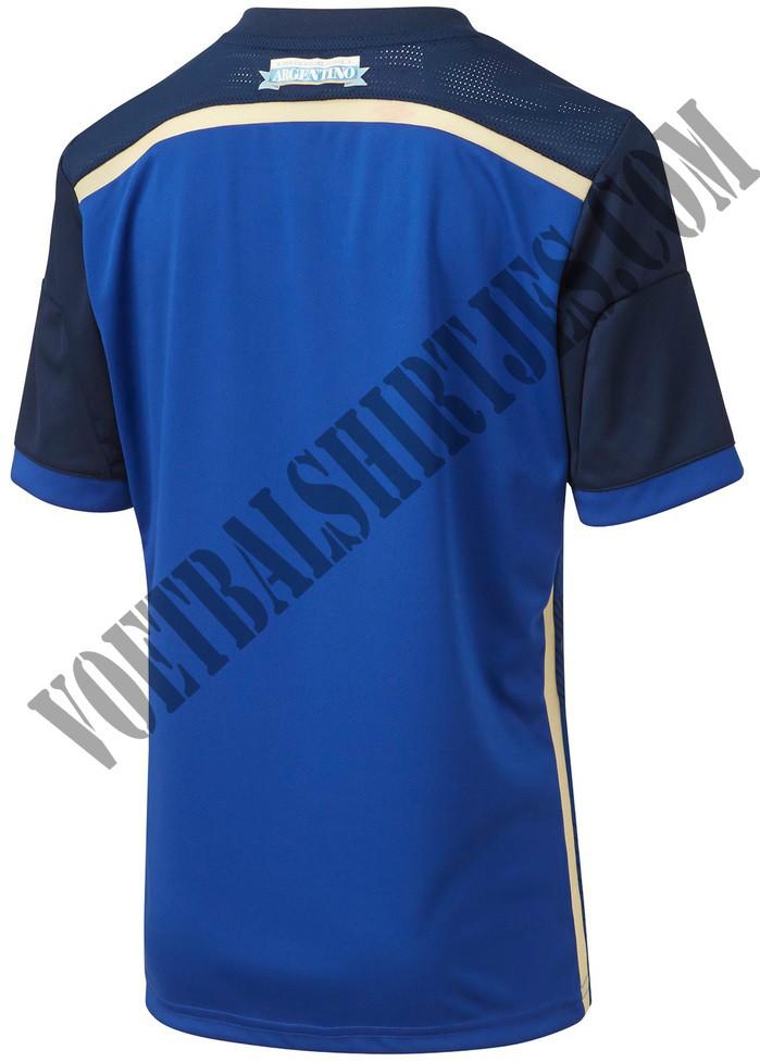 Argentinie shirt WK 2014
