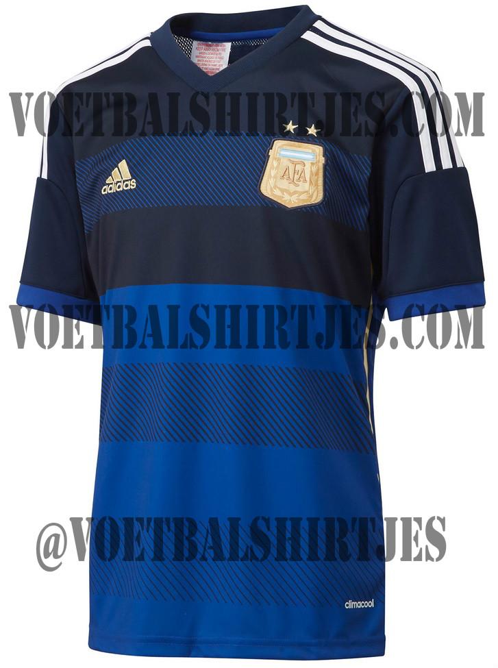 camiseta alternativa argentina 2014 2015