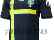 Sweden away kit 2014 2015