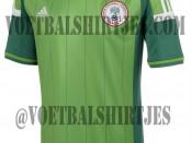 Nigeria home shirt 2014 2015