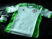 Nigeria away kit 2014
