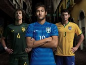 Brazil away shirt world cup 2014