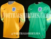 England goalkeeper shirt 2014