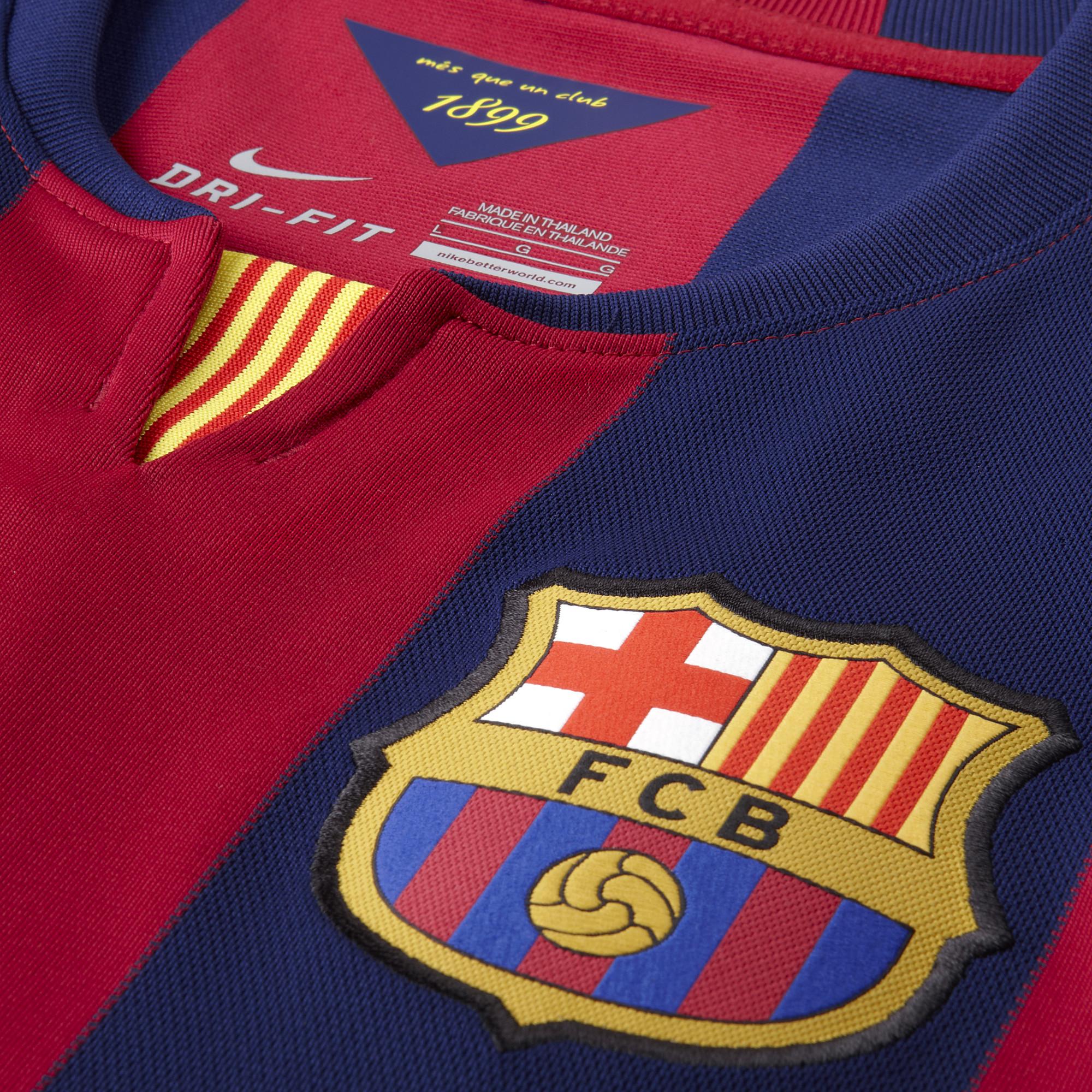 fc barcelona thuisshirt 20142015 voetbalshirtjescom