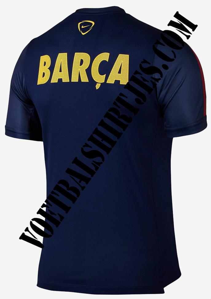 Barcelona shirt training top 2015