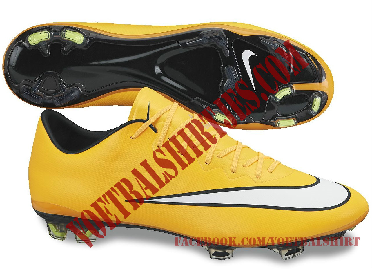 Nike Mercurial Vapor X LASER ORANGE WHITE BLACK VOLT