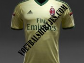 ac milan kit gara third 14/15