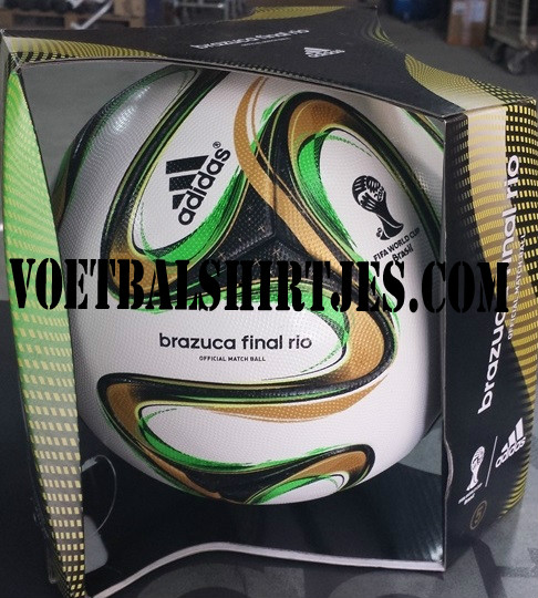 Adidas brazuca World Cup final ball 2014
