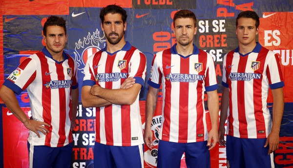camiseta Atlético Madrid 2015