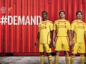 Liverpool shirt 2015 uit