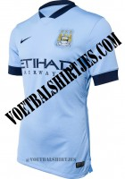 manchester city home kit 2015