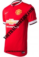 manchester united home kit 2015