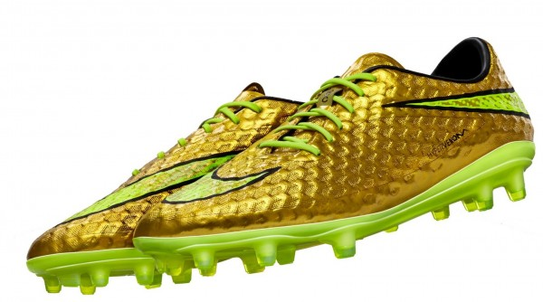 Neymar world cup 2014 boots gold