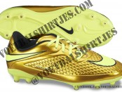 nike hypervenom Metallic Gold Coin