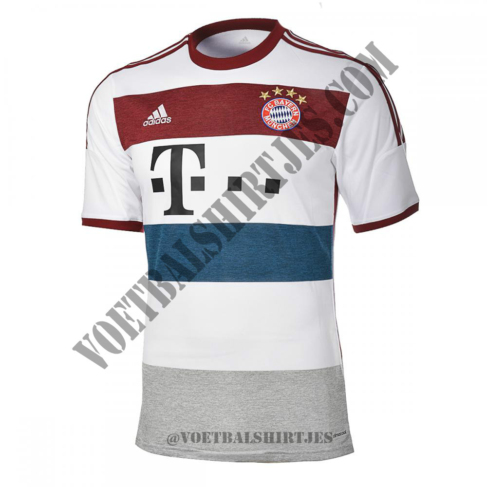 bayern m nchen uitshirt 2014 2015. Black Bedroom Furniture Sets. Home Design Ideas