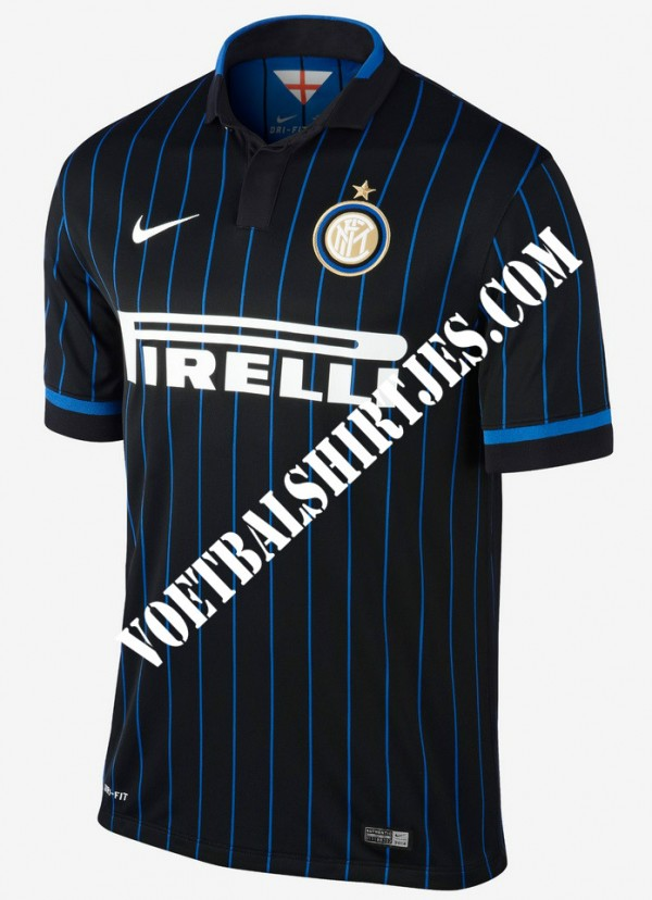 Inter 2014-2015 home shirt unofficially revealed