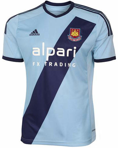 west ham united away kit 2015