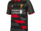 Liverpool third kit 14-15