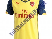 Arsenal away kit 14/15