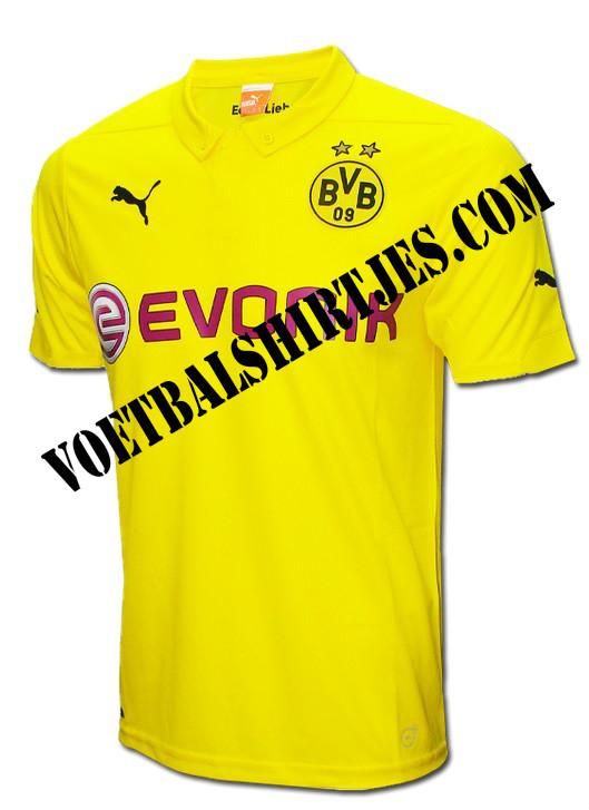 Borussia Dortmund Champions League trikot 14-15