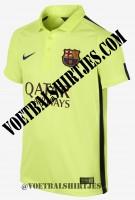 FC Barcelona third shirt 2015