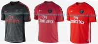 Paris Saint Germain training tops 14/15
