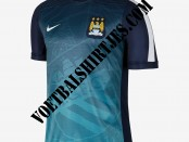 manchester city pre match training top 2015