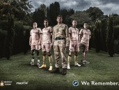 Millwall FC World War One 100th anniversary kit