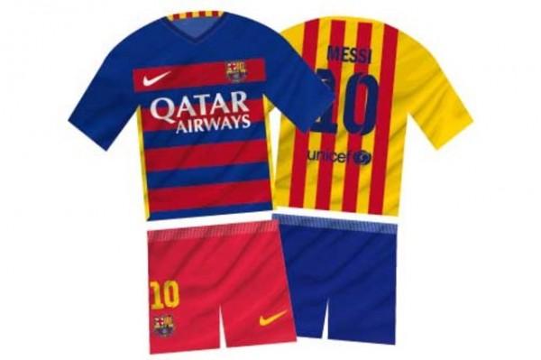 camisetas Barcelona 15/16