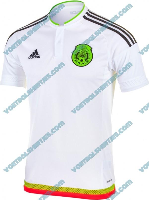 camiseta mexico 2015 2016