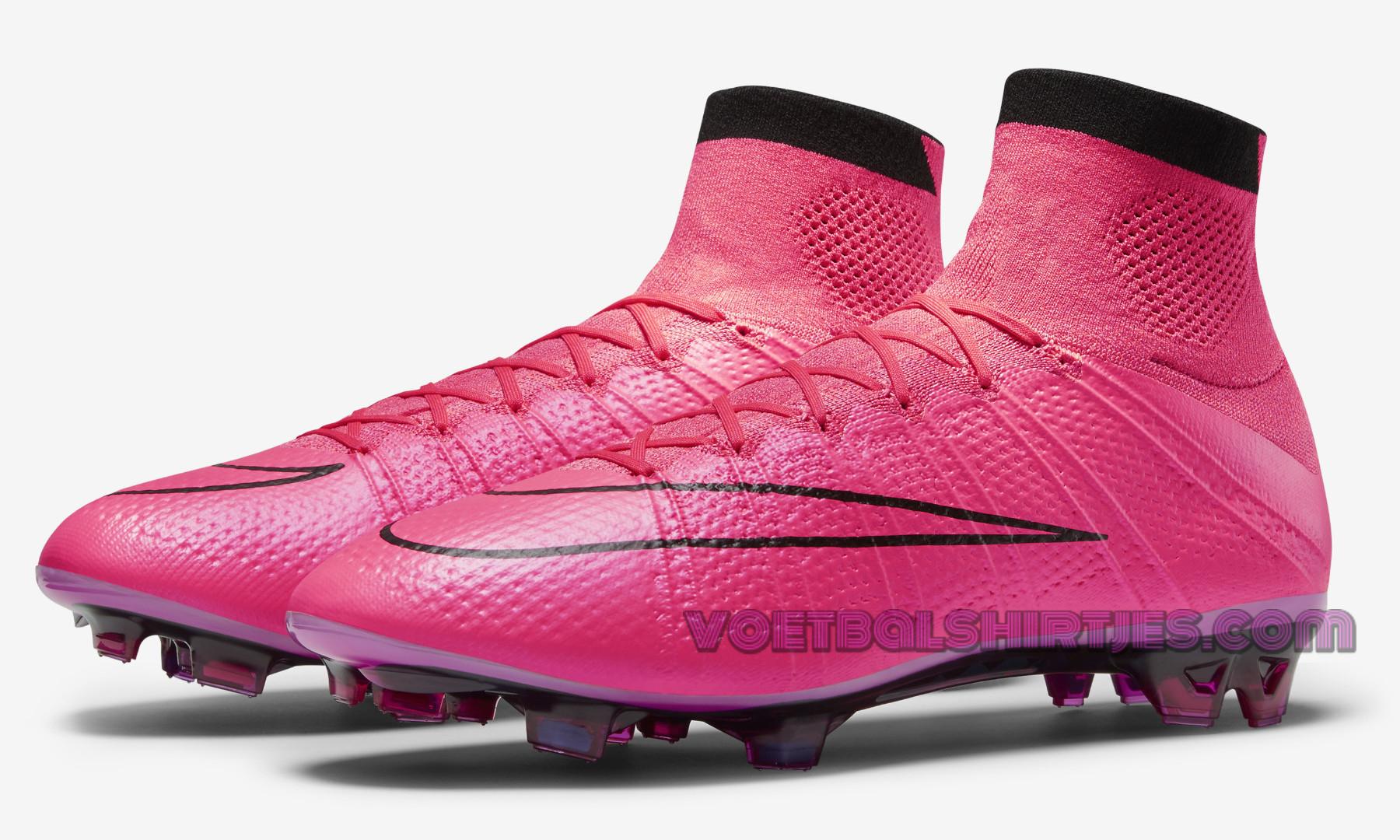 nike voetbalschoenen roze