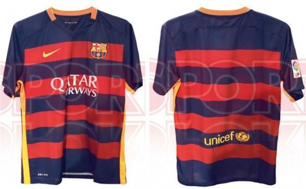 Barcelona shirt 15/16