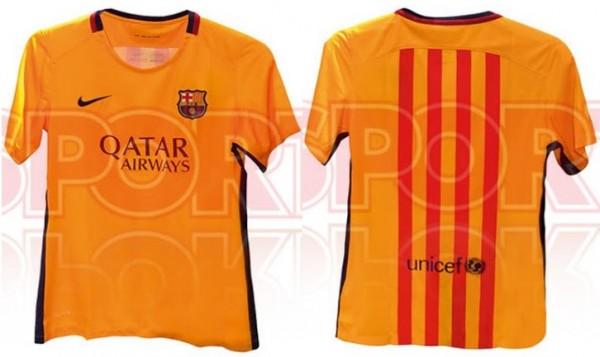 FC Barcelona uitshirt 15/16