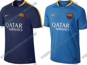 barcelona trainingsshirts 2016