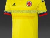 camiseta seleccion Colombia 2015