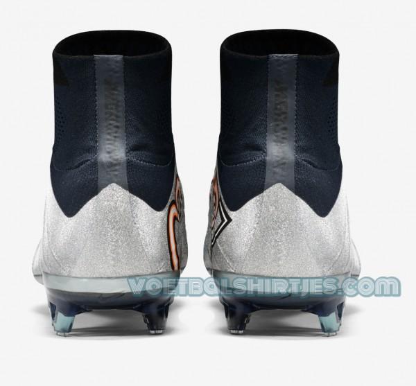 CR7 voetbalschoenen zilver