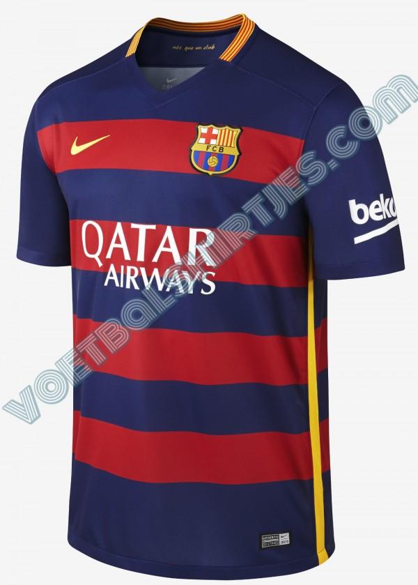 FC Barcelona shirt 15/16